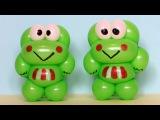 Лягушонок из шарика One balloon Keroppi the frog (Subtitles)