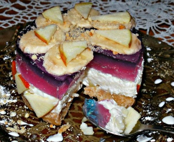 Пирожные без выпечки рецепты с фото