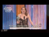 Эмма Стоун Победила в Гильдии Киноактеров США _ Речь Актрисы (субтитры)
