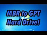 Как установить Windows 7 вместо Windows 8.1 без преобразования из GPT в MBR