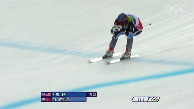 Svindal - Alpine Skiing - Mens Downhill - Vancouver 2010 Winter Olympic Games