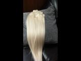 Волосы на заколках. Славянка LUX серия