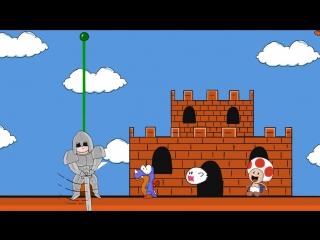 ЖЁСТКИЙ МАЧО! ( ОСТОРОЖНО ЗАРАЗНО ) [ Mario world ]