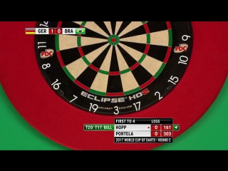 Germany vs Brazil (PDC World Cup of Darts 2017 / Round 2)