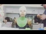 3hrs in 38sec Guardians of the Galaxy. Vol 2 Gamora / 3 часа за 38 секунд - грим Гаморы для фильма Стражи Галактики. Часть 2