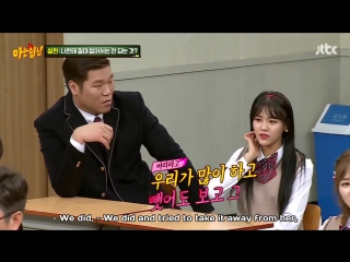 Knowing Brothers 161231 Episode 57 English Subtitles