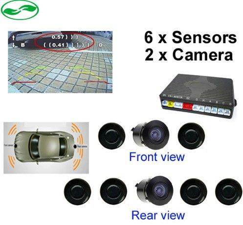 Всем привет Помогите отдельно найти контроллер для 6 датчиков парктроника2 спереди4 сзади и 2-ух камер и с выводом на LC