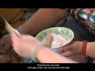 Living Vietnam in a day. Street Food in Nha Trang