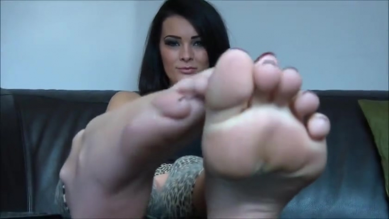 Charley Atwell Feet Tease 2 ( POV, JOI, SOLO, Foot Fetish,