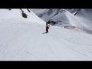 Первые катания на сноуборде 🏂