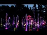 Казань_Парк Горького, танцующий фонтан