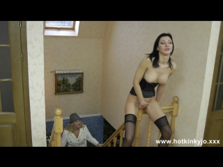 Hotkinkyjo - belly bulge with kinky nikky [hd, star, pov , big tits, big ass, new porn 2017]