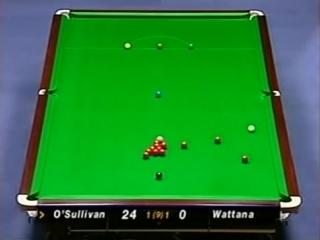 26. Ронни О'Салливан 147. Welsh Open 1999 (Против Джеймса Уотанна)