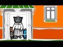 Три котенка - Знай цветные правила | Раскраски | Мультики для самых маленьких