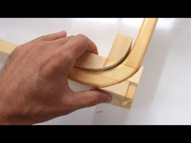 Curved box joint