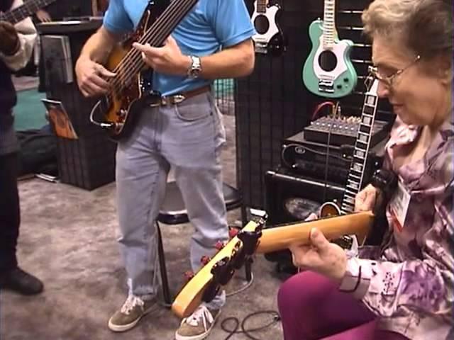 Carol Kaye,Steve BaileyVictor Wooten BassSession NAMMSHOW 2000