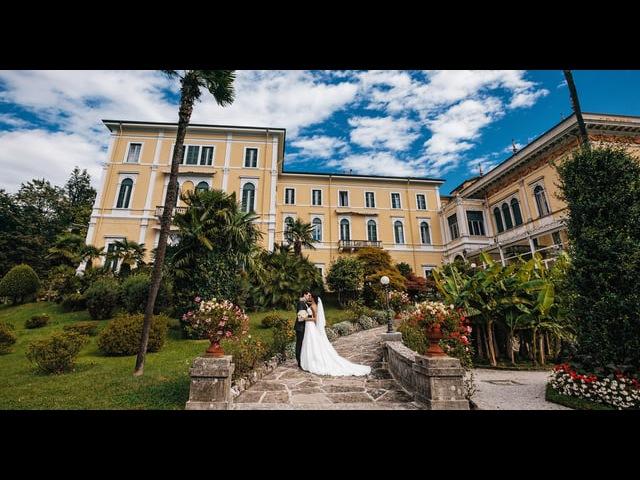 Свадьба на озере Комо (Италия) Lake Como, Italy