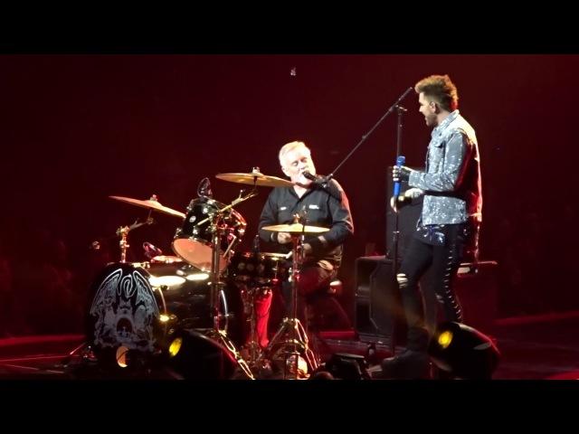 Queen and Adam Lambert - Under Pressure - Barclays Center NY