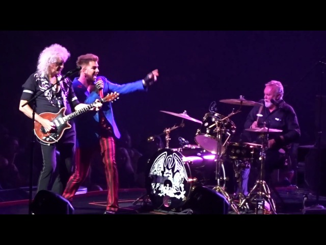 Queen and Adam Lambert - Crazy Little Thing Called Love - Barclays Center NY