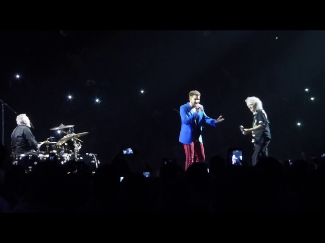 Queen - Somebody to Love @ Barclays Center, NY w Adam Lambert 2017