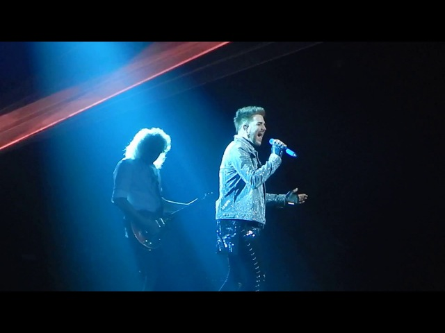Queen Adam Lambert - Who Wants To Live Forever - Brooklyn NY Barclays Center - 07-28-17