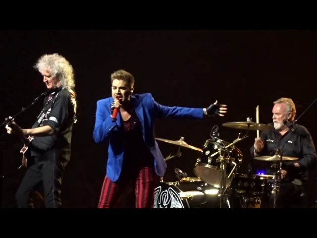 Queen and Adam Lambert - Somebody To Love - Barclays Center NY