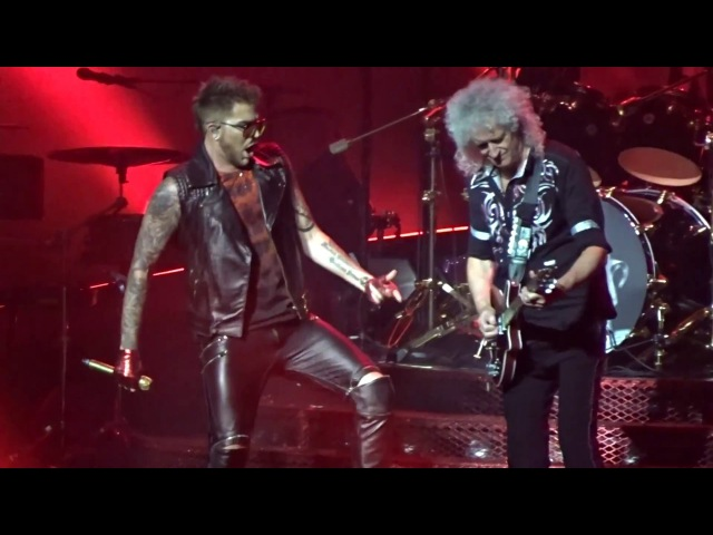 Queen with Adam Lambert - Another One Bites The Dust - Barclays Center NY
