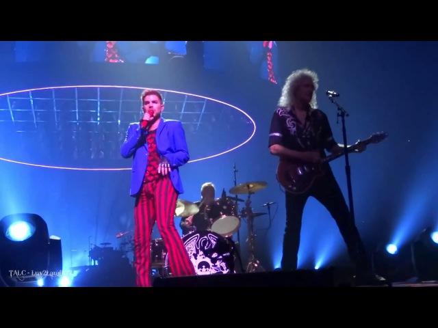 Q ueen Adam Lambert - CLTCL - Barclays Center - Brooklyn, NY