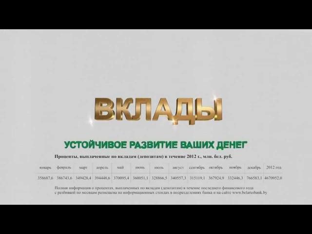 Вклады Беларусбанка – преумножение лучшего