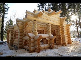 Деревянная элитная баня.Сруб из Кедра в Серпухов 2016