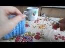 Носки без шва на двух спицах