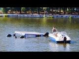Фрагмент спецоперации по спасению флагмана Екатеринбургской флотилии