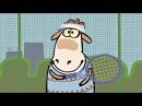 Смешной мультик - Овечки Холли и Долли - Холли и Долли играют в теннис (1 сезон | серия 15)
