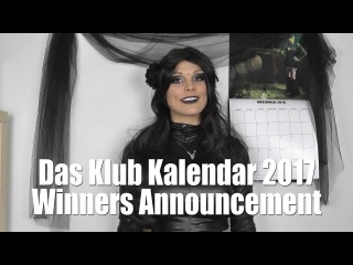 Das Klub Kalendar 2017 - WINNERS