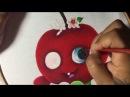 Pintura En Tela Cerezita Con Cony