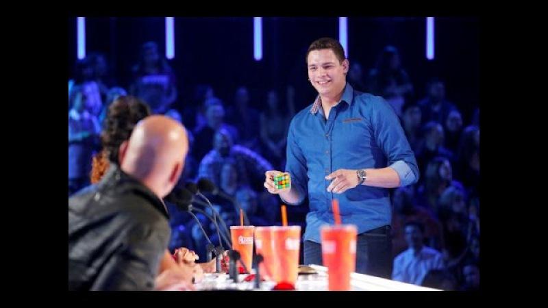 BEST Magic Show in the world Genius Rubik's Cube Magician America's Got Talent