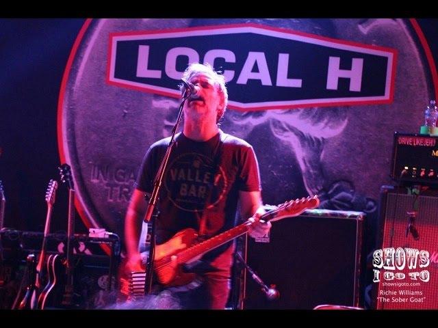 Local H As Good As Dead 20-Year Tour The Social, Orlando FL 08/22/2016