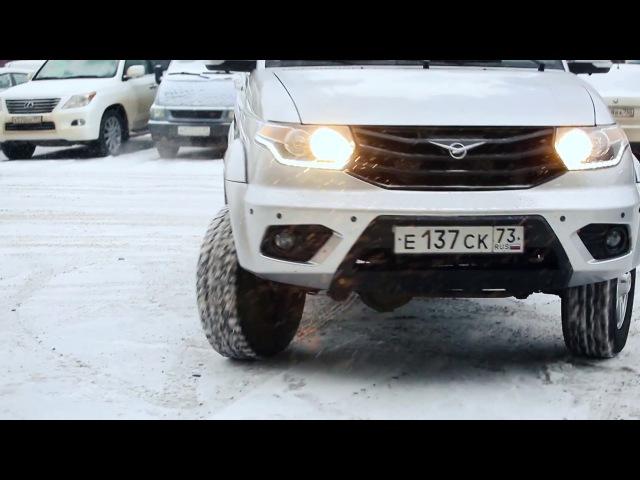 Ульяновский автомобильный завод представил тестовую версию УАЗ ПАТРИОТ с телем ekmzyjdcrbq fdnjvj bkmysq pfdjl ghtlcnfdbk ntc