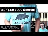 Sick Neo Soul Chord Tutorial + JAZZ IS DEAD T-SHIRT PRE-SALE!!