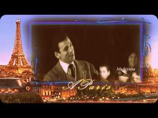 Ретро 60 е - Ив Монтан - A Paris / В Париже (клип)
