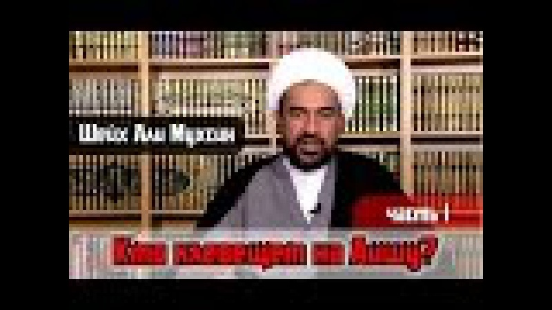 Шейх Али Мухсин Кто клевещет на Аишу Часть 1 Позиция шиитских ученых