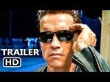 TERMINATOR 2 Judgement Day 3D Official Trailer (2017) T2, Arnold Schwarzenegger Action Movie HD