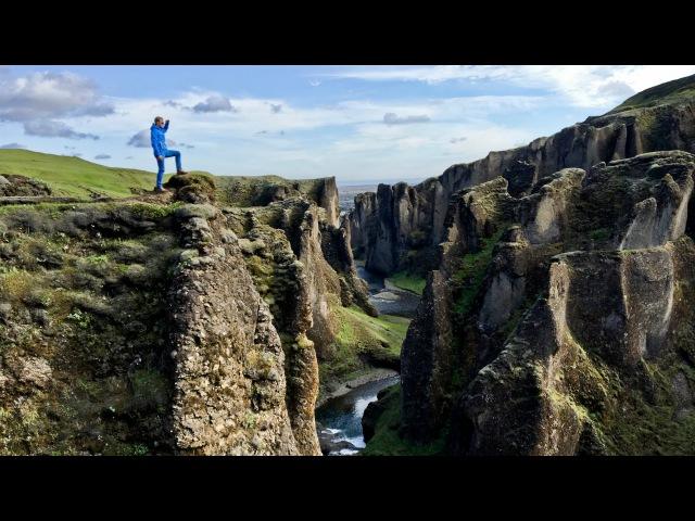 Исландия. Очень красивое видео с высоты птичьего полета!