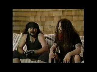 Pantera - Dimebag Darrell Vinnie Paul Interview - On Tour - PBS -11/28/97