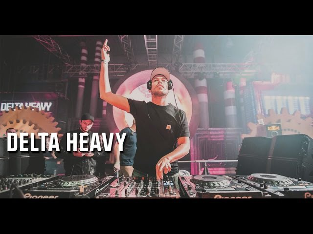 DELTA HEAVY - Let It Roll Winter 2017 - Factory stage