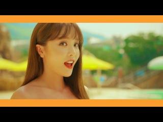홍진영(Hong Jin-young) 오션월드(Ocean World) M/V CF