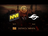 Na`Vi vs Secret, DAC 2017 EU Quals, game 3 GodHunt, Faker