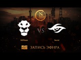 Ad Finem vs Secret, DAC 2017 EU Quals, game 2 [Lex, 4ce]