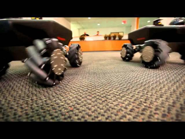 Robotnik Summit XL HL OMNI - Mecanum Wheels