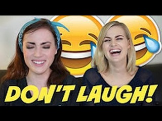 TRY NOT TO LAUGH #2 - ROSE AND ROSIE [RUS SUB]